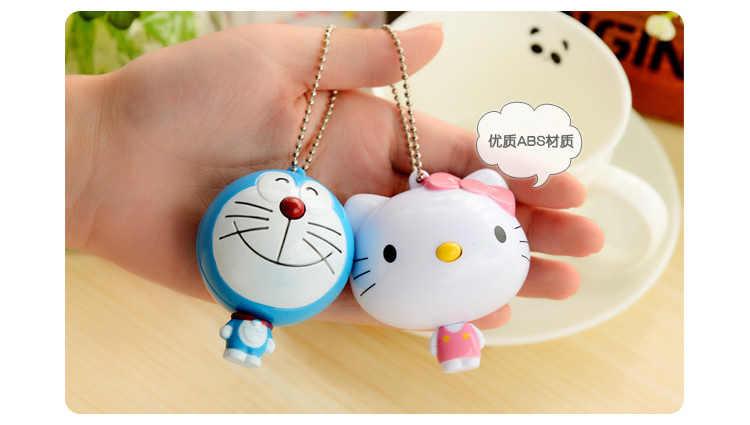 CarCartoon Tự động co rút đo thước dây Dễ Thương Kawaii Mèo Doraemon búp bê mềm Băng thước/Vải Ăn Kiêng May.