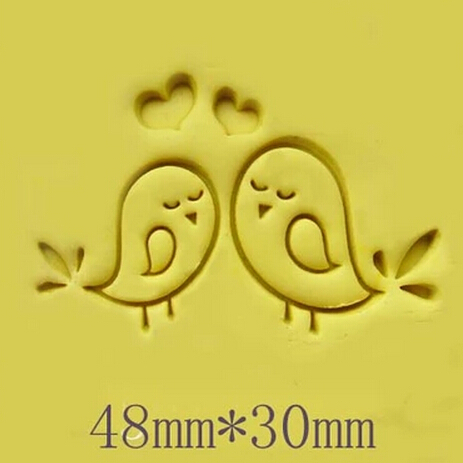 FREE SHOPPING Handmade bird soap diy tool soap mini stamp pattern diy soap