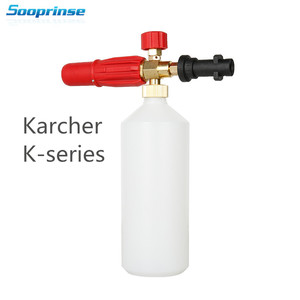 Image 1 - Schaum Generator Schaum düse Kanone Pistole Tornador für Carcher Schaum Lance für Karcher K Serie Hochdruck Washer Auto reinigung