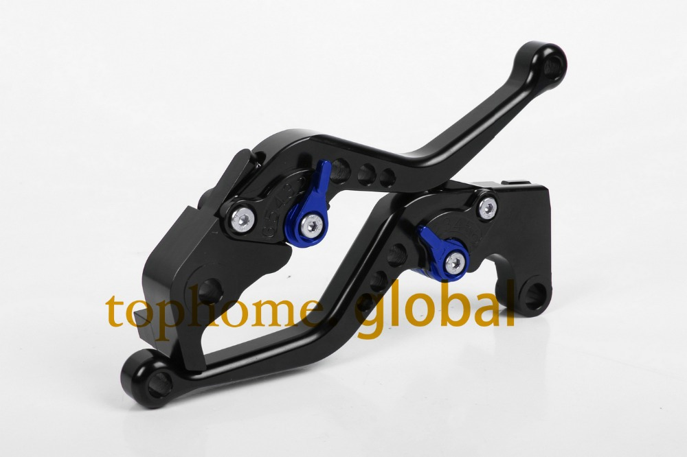 Motorcycle Accessories CNC Clutch Brake Lever For Yamaha TDM 900 2012-2014 2013 Short Black Handlebar Brake Lug grips стоимость