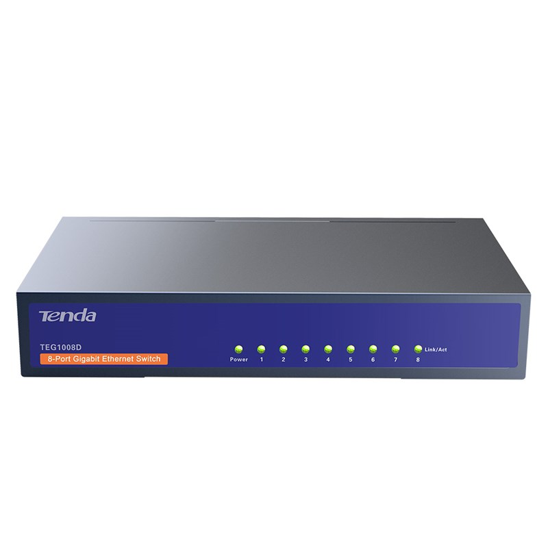 New 8-Port Unmanaged Gigabit Desktop network Switch ...