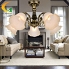 Free Shipping Continental Jane European Restaurant Chandelier Living Room Lamp Bedroom Lamp Study Lamp Warm Iron