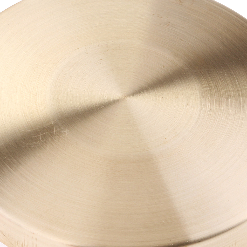 Hand Gong Cymbals W/ Wooden Stick For Band Rhythm Percussion Kids Music Toy