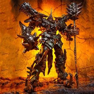 Image 2 - BMB LS05 LS 05 Grimlock del metallo Della Lega Movie Film Oversize allargata Leader antico Action Figure Robot dinosauro Deformato Giocattoli