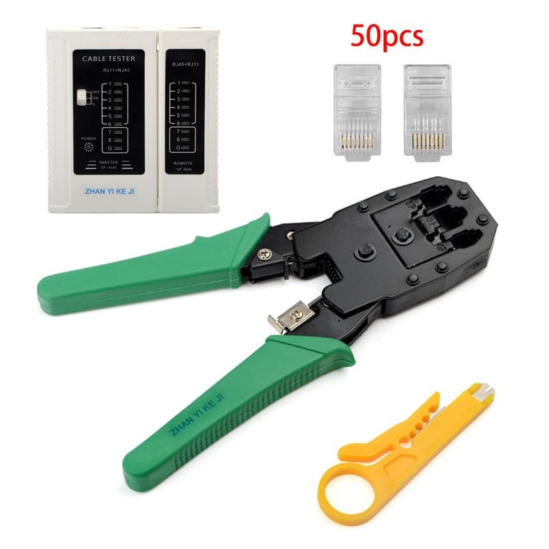 Network Cable Pliers RJ45 RJ11 Crimping Cable Stripper Crimper RJ45 Pressing Line Clamp Pliers
