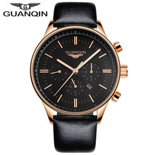 GUANQIN GQ12003 Original Watches Men Luxury Top Brand New Fashion Men's Big Dial Designer Wristwatch masculino reloje