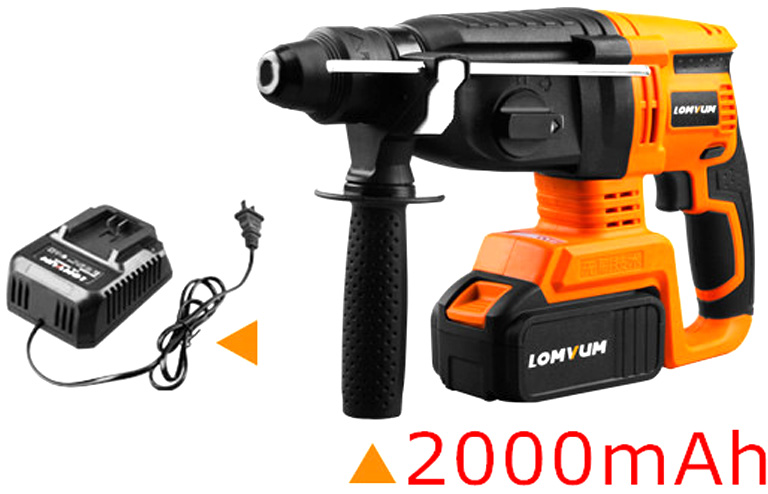 21V Electric Impact Drill Rotary Hammer Brushless Motor Cordless Electric screwdriver+Electric hamme Electric Impact Drill