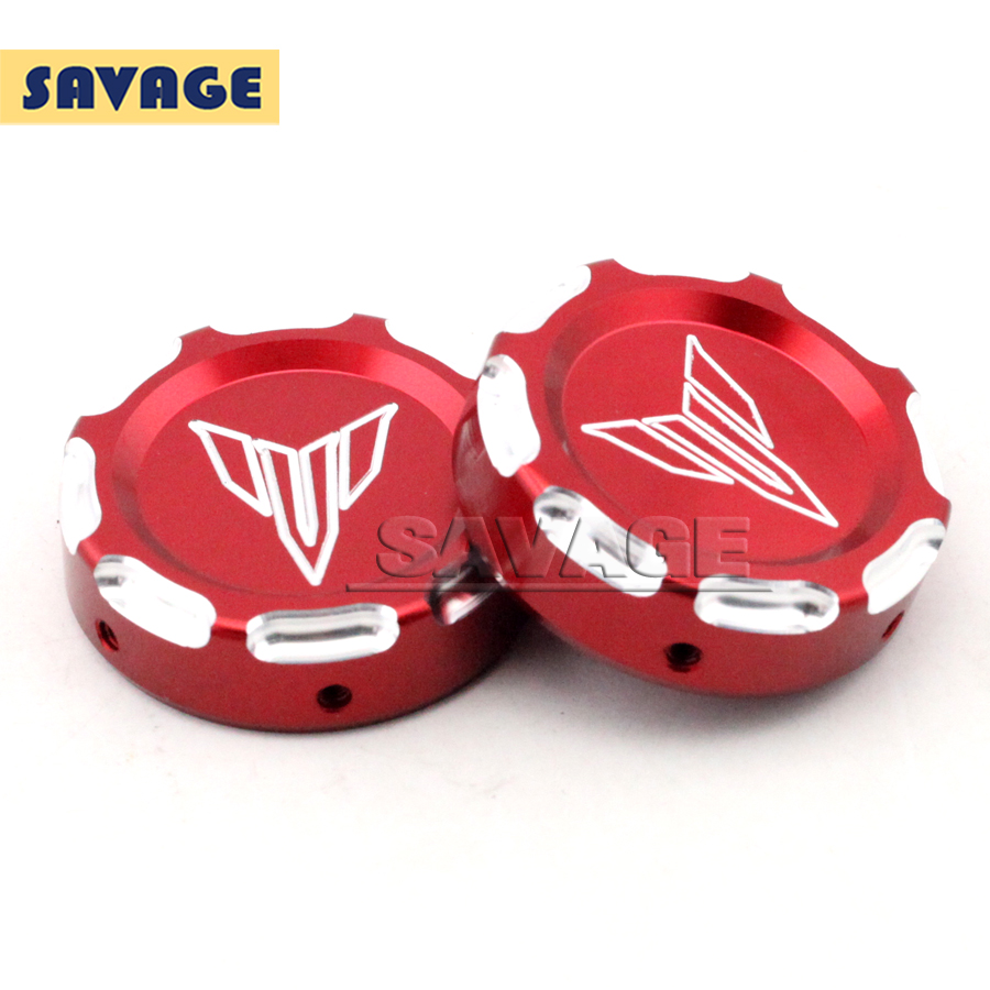 Подробнее о For YAMAHA MT-07 FZ-07 MT07 FZ07 2014 2015 2016 Red Motorcycle Accessories CNC Aluminum Front Fork Decorative Cover Cap motorcycle cnc billet aluminum front fork cover caps for yamaha mt07 fz07 mt 07 fz 07 2014 2015 red free shipping