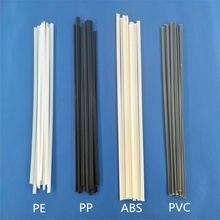 Пластик со сварочными электродами 200 мм Длина АВС, ПП, ПВХ/ПЭ сварочные палочки 5x2 мм для Пластик сварщик для выведения токсинов, 40 шт