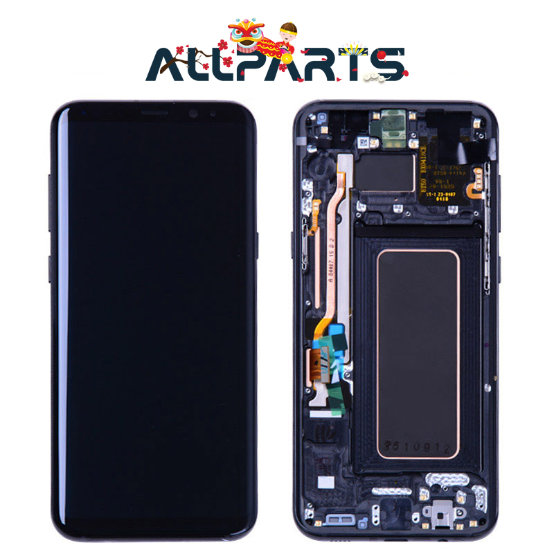 Warranty AMOLED Display For SAMSUNG Galaxy S8 Screen Replacement LCD Touch Digitizer Assembly S8 Plus LCD