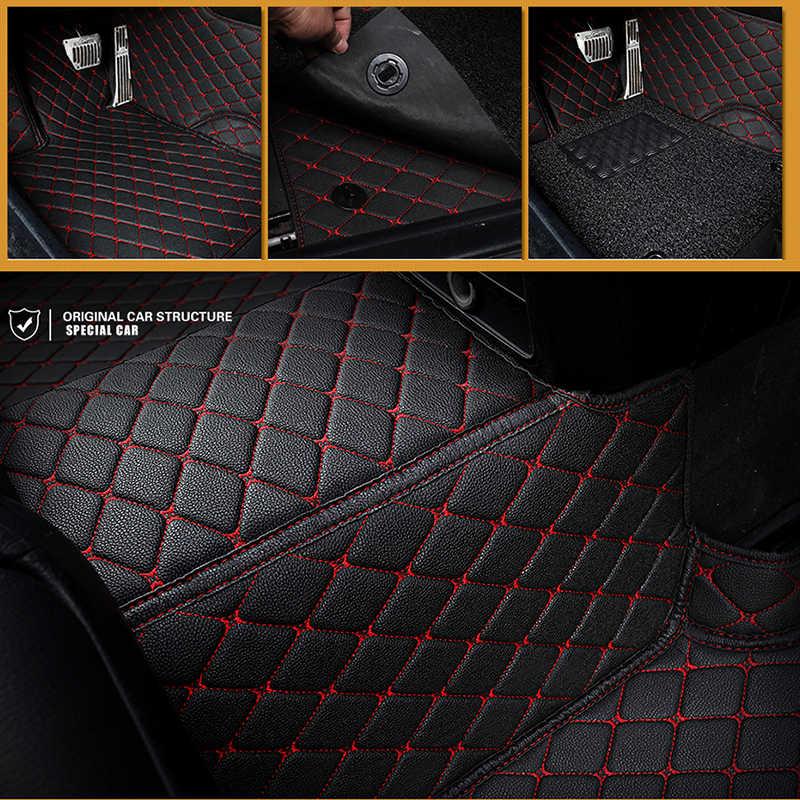 Пользовательские автомобильные коврики для Toyota Corolla Camry Rav4 Auris Prius Yalis Avensis Alphard 4runner Hilux highlander sequoia corwn 3D