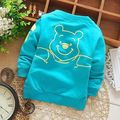 2016 Hot Winter Baby Girls Boys t Shirts Tracksuits Tops Clothing Cartoon Winnie Clothes