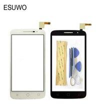 Esuwo Сенсорная панель Датчик Стекло для Alcatel One Touch Pop 2 OT 7043 OT7043 сенсорный экран Переднее стекло планшета