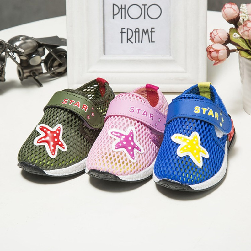 2018 New Summer High Quality Non-slip Children Shoes Boys Girls Fashion Sandals Princess Sandals With LED Light Kids Flat Shoes
