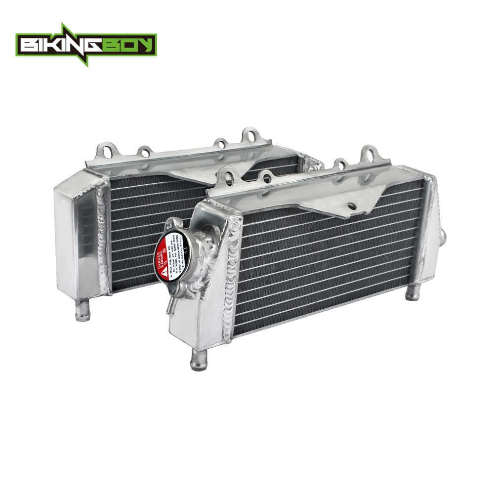FOR Kawasaki KX125 KX 125 03-08 04 05 06 07 08 2008 2007 aluminum radiator