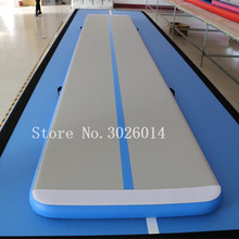 Free Shipping 6m Gymnastics Mat,Inflatable Air Track Tumbling Mat Gym for Gymnastics,Air Floor Mat for Home With a Pump free shipping 6 pieces 4 mat 1 roller 1 pump inflatable home gym equipment air track training set air gym mat for home edition