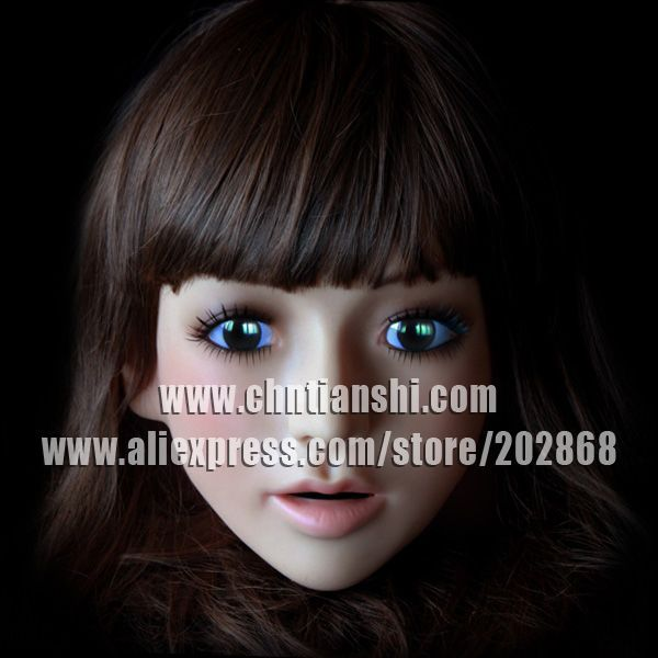 SH-14 silicone female mask human party CD CHANGE - Guangzhou Usilicone chemical material Co.,Ltd store