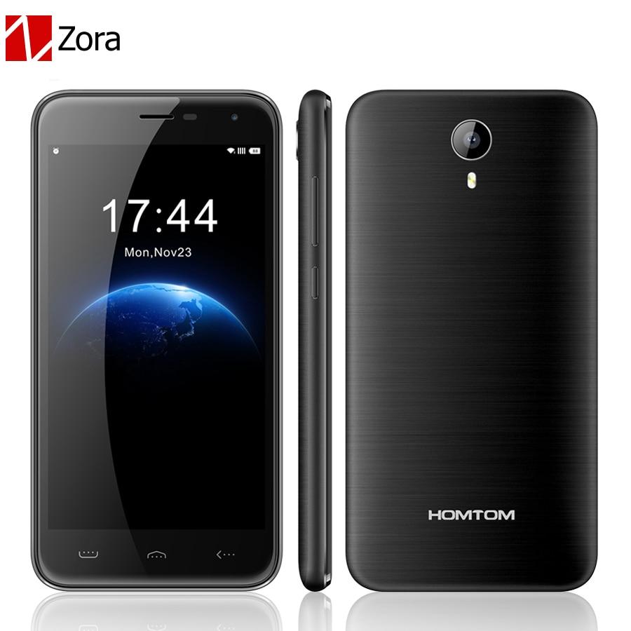 Homtom HT3 5 0 HD Android 5 1 Dual SIM 3G WCDMA MTK6580 Quad Core 3000mAh