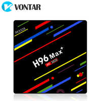 VONTAR H96 MAX Plus TV Box Android 9.0 4GB ram 64GB Rockchip RK3328  H.265 4K Youtube Netflix Google Play Smart TV H96MAX