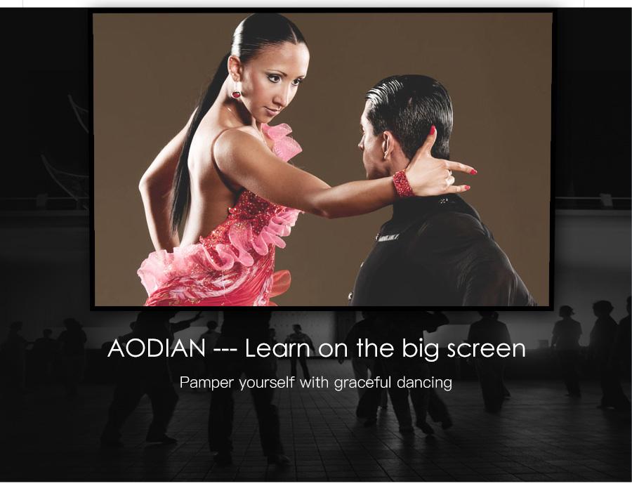 AODIAN AODIN 3D HD Mini projector DLP support 1080P video 8G pico pocket projector for home theater HDMI smart led portable projectors-26