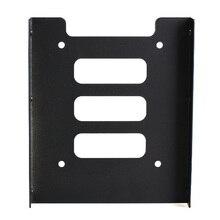 Nouveau Noir 2.5 pouce SSD HDD À 3.5 pouce de Montage En Métal Dock Support Adaptateur pour PC SSD XXM