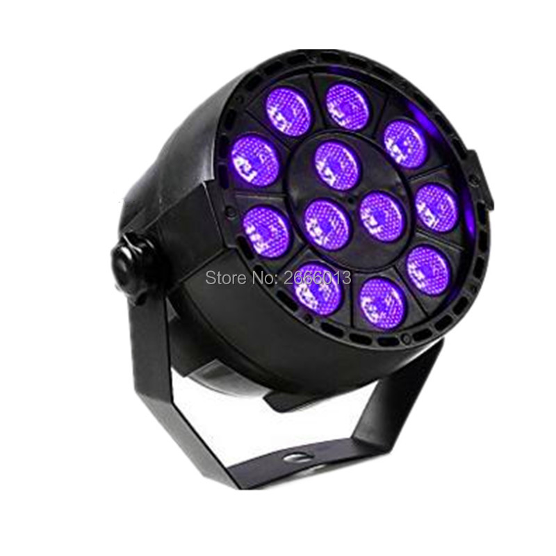 Niugul 12 LEDs DJ Lighting Violet LED Bar Wall Washer effect Light for Stage KTV Party Club Disco purple LED Par light Xmas lamp niugul dmx stage light mini 10w led spot moving head light led patterns lamp dj disco lighting 10w led gobo lights chandelier
