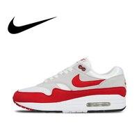 Nike AIR MAX 1 ANNIVERSARY Mens Running Shoes Sport Outdoor Sneakers Athletic Designer Footwear 2019 New Arrival 908375 103