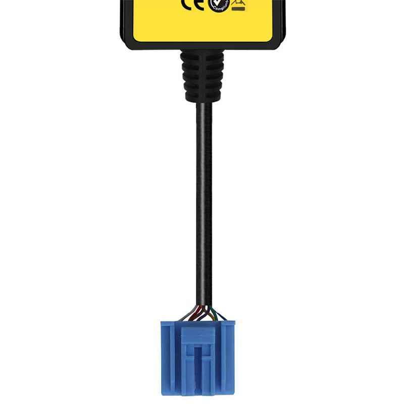 Автомобильный Mp3 Телефон Aux USB адаптер 3,5 мм кабель вспомогательный CD авто Changer адаптер для Honda 2,3 для Civic/Accord/Odyssey/CRV QX006