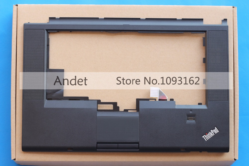 New Original Lenovo ThinkPad T530 T530i W530 Palmrest Cover Keyboard Bezel Upper Case With Touchpad Fingerprint 04W1369 04X3737 new russian ru laptop keyboard for lenovo ideapad u530 palmrest keyboard bezel cover touchpad with backlit 90204072 black