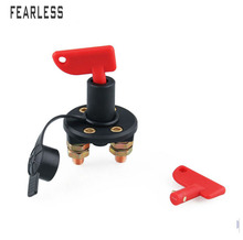 Car modification power supply main switch battery double column anti-leakage knob