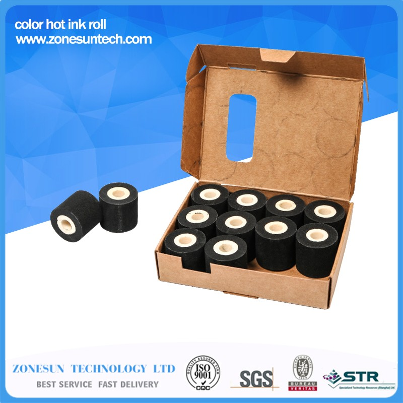 Free-Shipping-36-32MM-10pieces-lot-100-sponge-ink-roller-solid-coding-machine-rolls-blank-hot