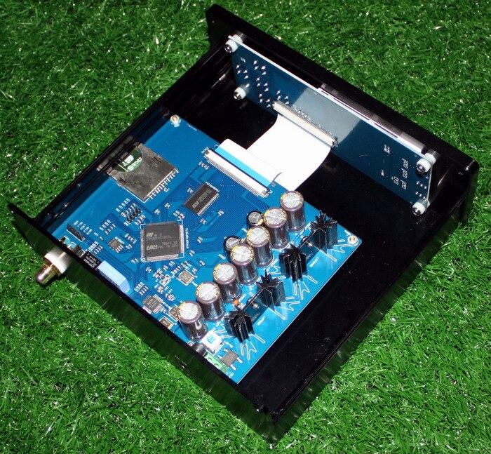 Amplificateur de puissance coaxial DC12V STM32F407ZET6 AK4118 lecteur de platine numérique de luxe sans perte SD