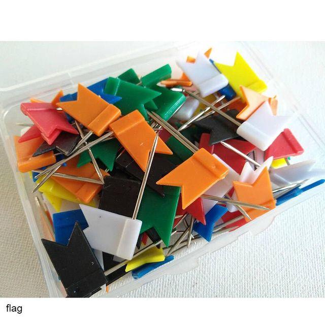 100 Uds alfileres de costura de acero inoxidable alfileres del remiendo del bordado accesorios herramientas de costura marcador aguja DIY accesorios de costura
