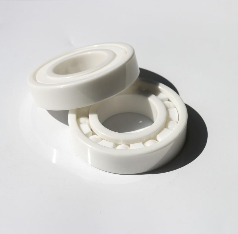 4pcs 10pcs 6701 ZrO2 full Ceramic ball bearing 12x18x4 mm Zirconia ceramic deep groove ball bearings
