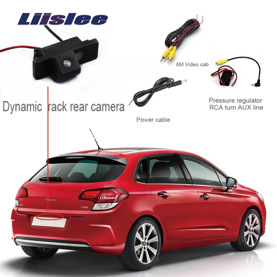 Liislee Car Rear View Back Up Reverse Parking Camera For Citroen C4 C Triomphe C Quatre