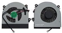 SSEA Nueva original ventilador de la CPU para Clevo W150 W150er W350 W370 W350ETQ AB7905HX-DE3 ventilador 6-31-W370S-101 6-23-AW15E-011