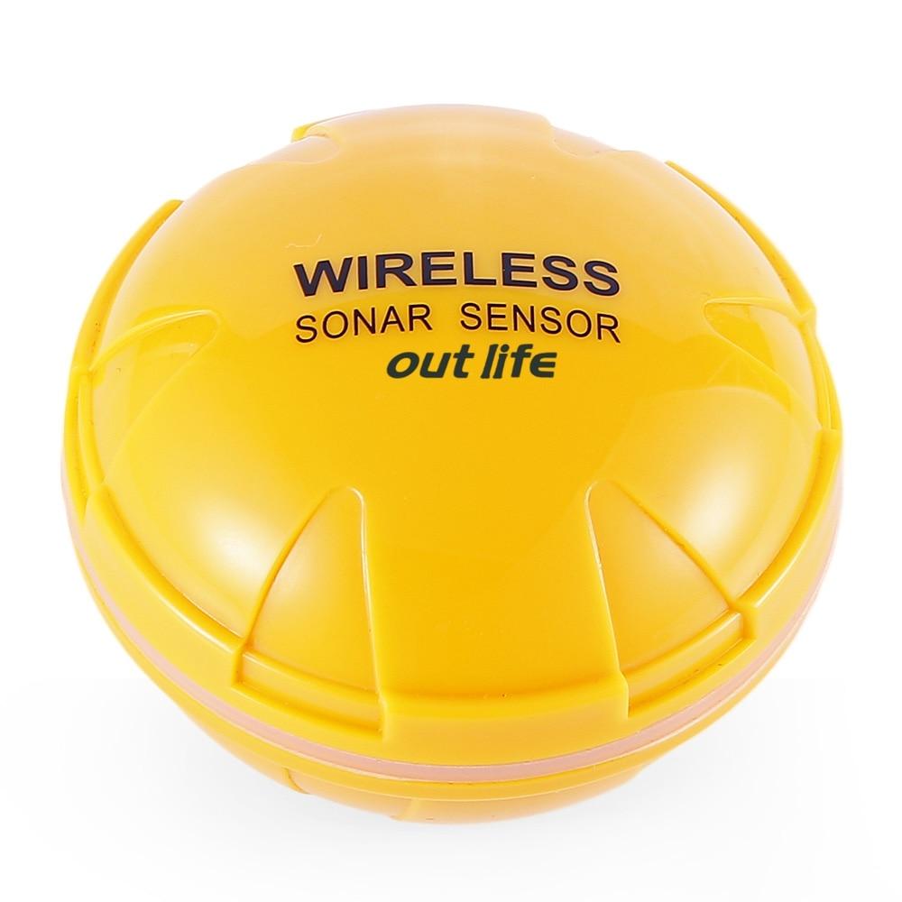 Détecteur de poisson sans fil Outlife capteur Sonar Portable sondeur écho sondeur Bluetooth profondeur mer lac poissons détecter dispositif iOS Android - 5
