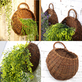 JX-LCLYL Wall Hanging Flower Plant Basket For Garden Outdoor Indoor Holder Home Decor