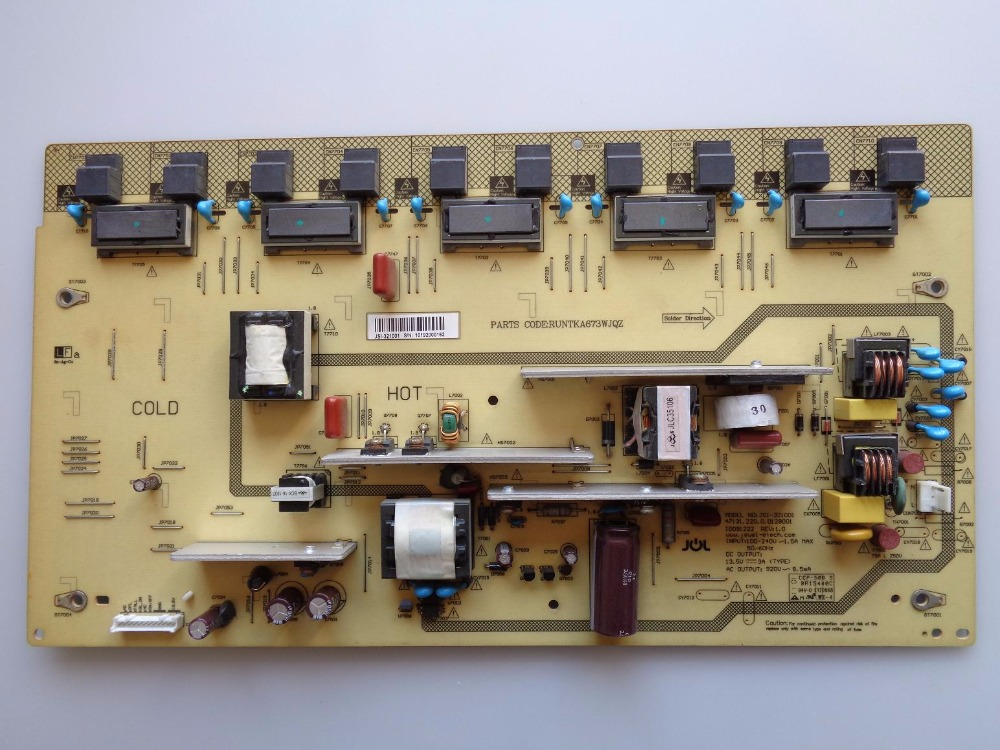 LCD-32D500A power panel RUNTKA673WJQZ JSI-321001 is used 42pfl9509 power panel 2300kpg109a f is used