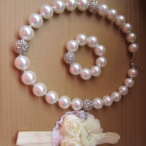 New Style Girls Pearl Necklace