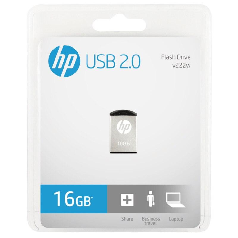 HP USB Flash Drive 16gb Pendrive Memory Stick Metal USB v222w Micro M2 Music Disk with otg Type-c For Vehicle DJ Pendrive U Disk