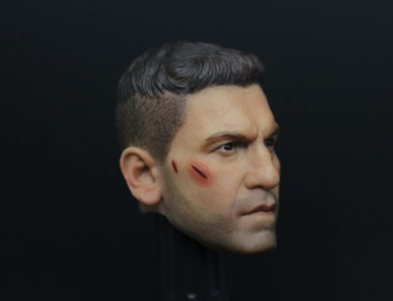 【IN STOCK】1//6 Punisher Head Sculpt 1.0 Jon Bernthal for 12/'/' Male Figure PHICEN