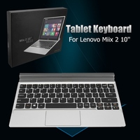New Original For Lenovo Miix 2 Tablet Keyboard Dock K610 New 10inch Tablet Keyboard Case For Lenovo With Topcase and TrackPad