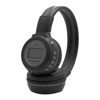 N85 Earphones Plug Card MP3 Digital Gaming 3.5mm Stereo Headphone With LCD Screen Wireless Headset FM Radio Over-ear