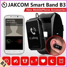 Jakcom B3 Smart Band сердечного ритма Мониторы браслет Фитнес Flex Браслет для IOS Android PK xio Mi band 2 fitbits