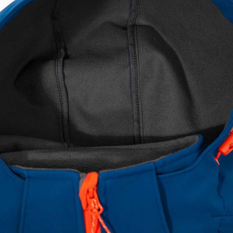 Męskie zimowe 3L termiczny polar piesze wycieczki kurtki 2019 nowy wodoodporna odkryty płaszcze z kapturem wędkarstwo polowanie Camping odzież Softshell