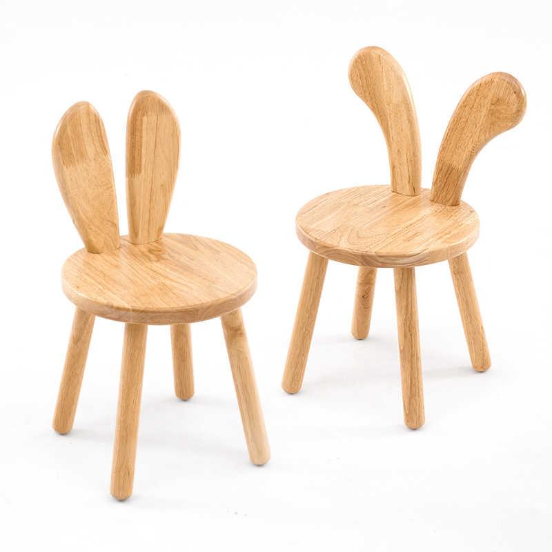 домашние мультяшные деревянные скамейки креативный столик