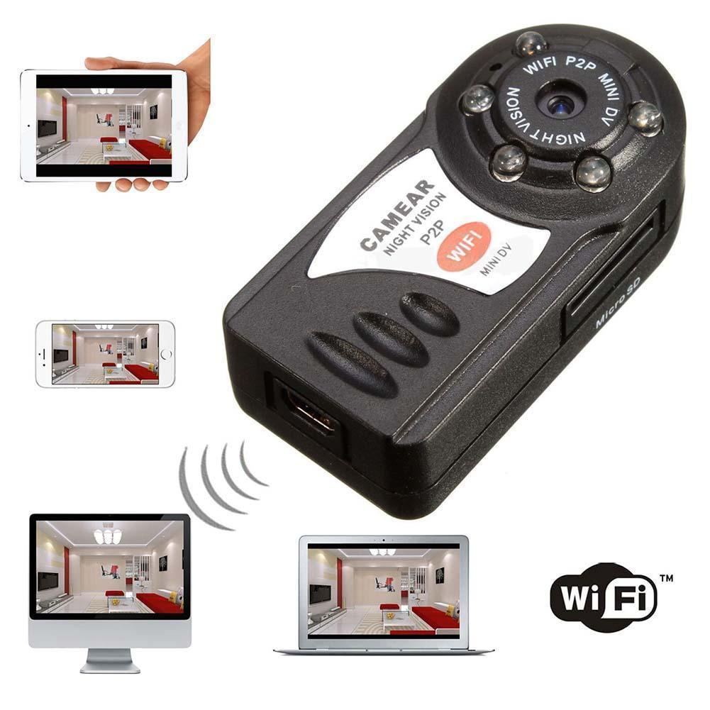 WIFI Mini DV IP Wireless font b Night b font font b Vision b font Camera