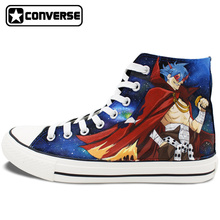 Custom Design Converse Sneakers Gurren Lagan Robot Hand Painted Shoes Personalized Christmas Gifts for Men Women
