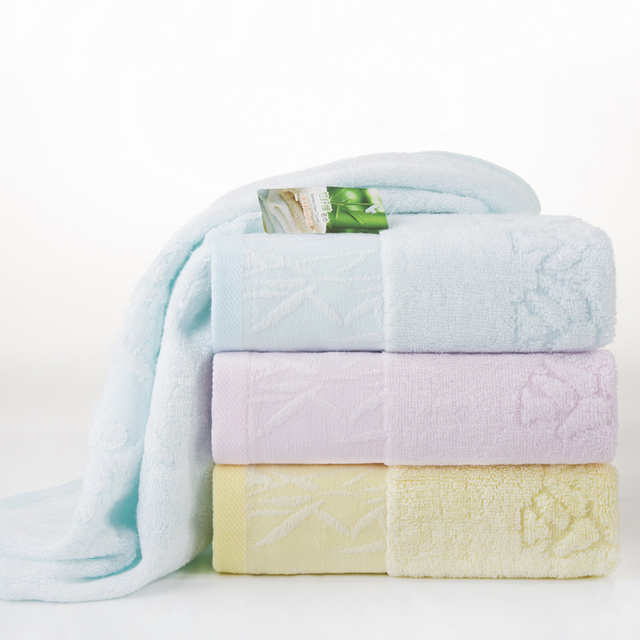 High Quality Cool Bamboo Towels On Sale Best Solid Color Hand Towel